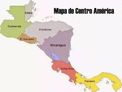 Mapa De Centro America.Central America Arbor Assets