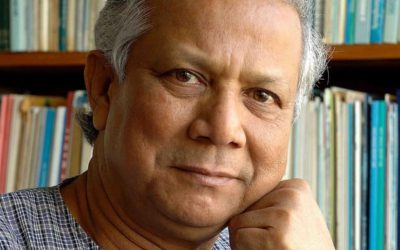 Muhammad Yunus Discusses the History of Micro-lending